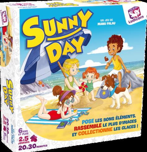 Sunny Day, c'est le jeu à la plage (aou-cha-cha-cha)