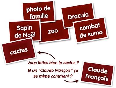 Stand up le nouveau jeu de mimes actualit s tric trac for Stand en francais