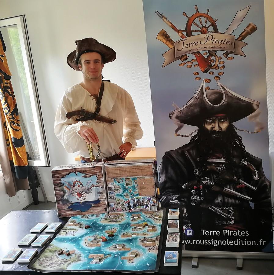 Terre Pirates ! Précommandes et personnage exclusif !
