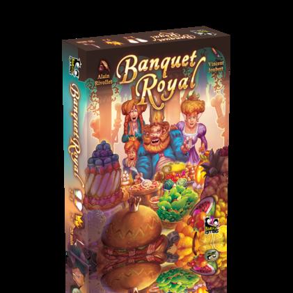 Carnet d'éditeur pour la sortie de Banquet Royal