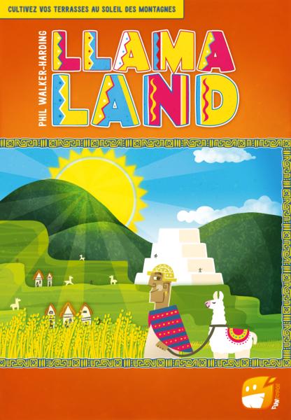 Découvrez le jeu Llamaland chez Funforge prochainement !