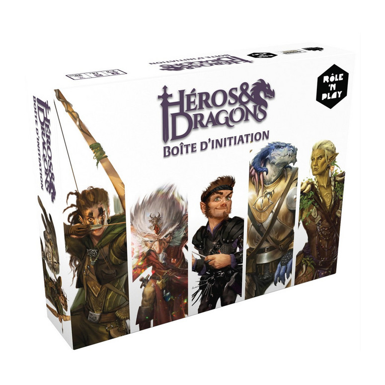 héros & dragon boîte