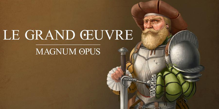 """Résultat de recherche d'images pour """"bragelonne games Le Grand Œuvre — Magnum Opus"""""""