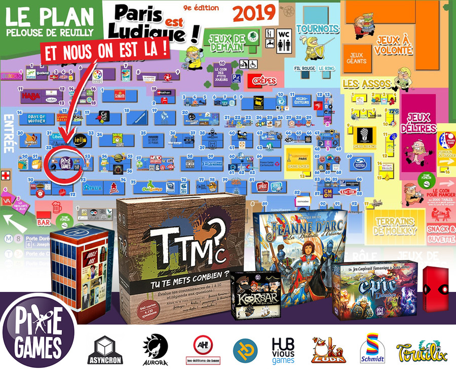 PEL 2019, la team Pixie Games se pose en 52