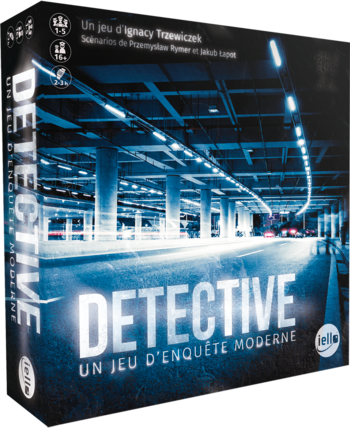 DETECTIVE, Un jeu d'enquête moderne