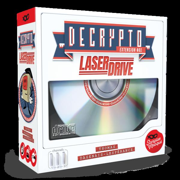 Decrypto Laser Drive - La révolution technologique du futur!