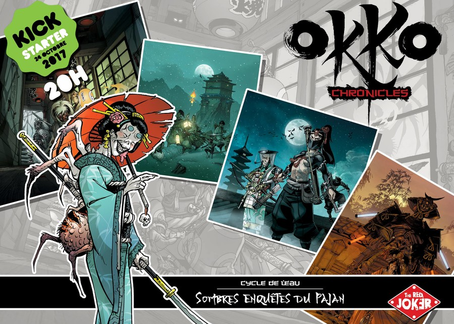 OKKO CHRONICLES - LES ILLUSTRATIONS EXCLUSIVES