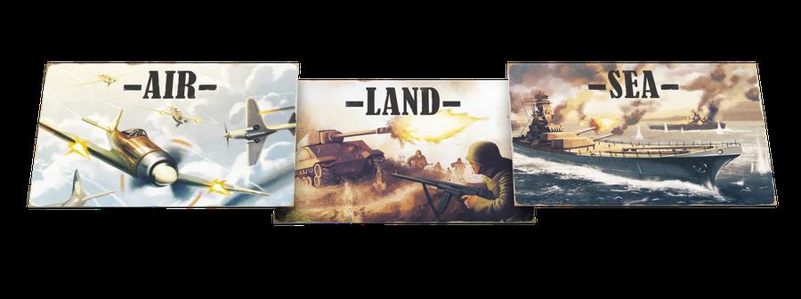 Revue Caustique : Air, Land and Sea