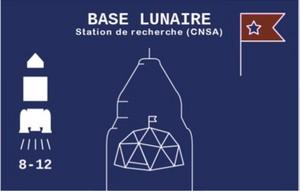 Baïkonour : base lunaire