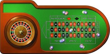 Le casino : roulette