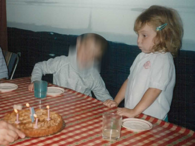 La petite Marie, 4 ans