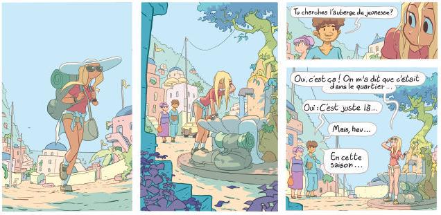Premières images du dernier tome de Lou par Julien Neel