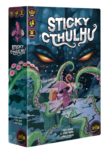 Sticky Cthulhu dans vos boutiques !