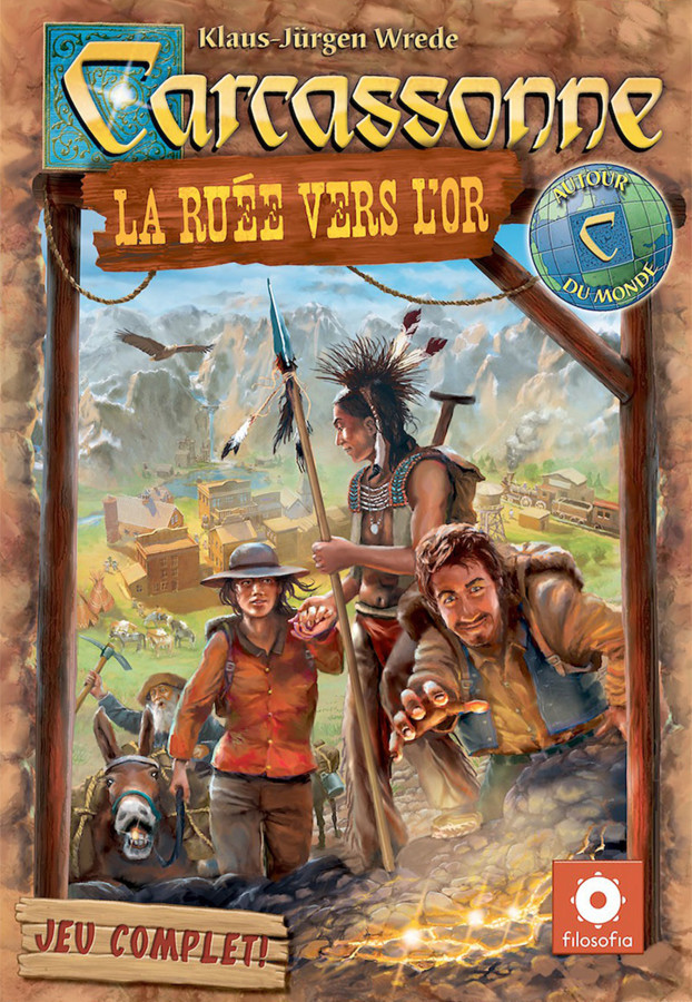 Carcassonne : La Ruée vers l'Or, quoi de neuf Doc ?