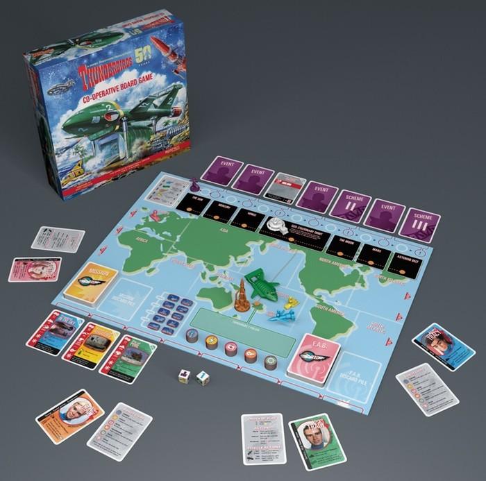 Pandemie-like ? Thunderbirds le dernier jeu de Matt Leacock