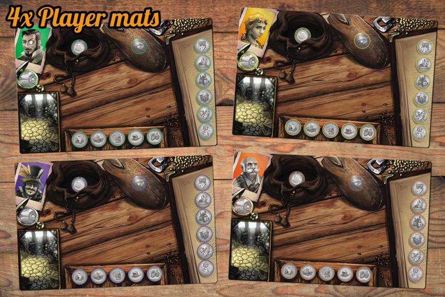 Dice Brewing - Player mats