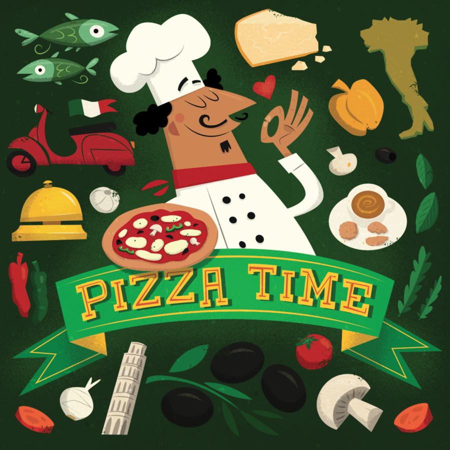 Pizza Time : Cocktail à la sauce tomate !