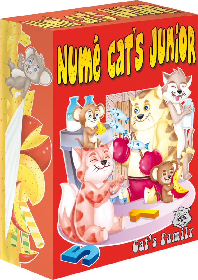 Numé Cat's Junior - nouvelle édition
