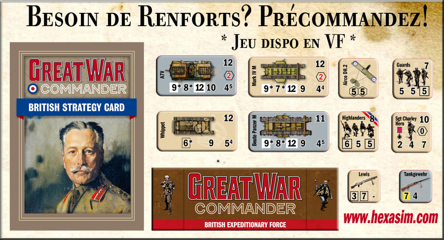Great War Commander: British Expeditionary Force - précommandes ouvertes 4ef804a452ad35892a85f81a8fadfbb4c04a9cce556eb2b10fa49cce6460