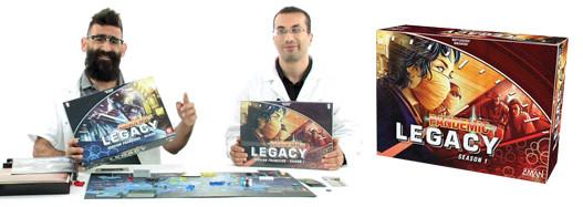 Pandemic Legacy, de le comment ça marche ?