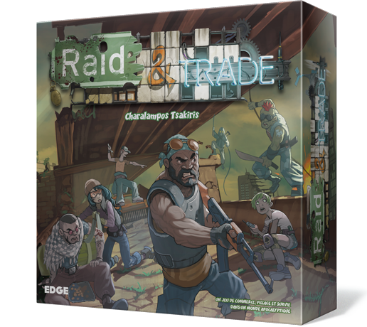 Raid & Trade : Esteban, Zia, Tao...