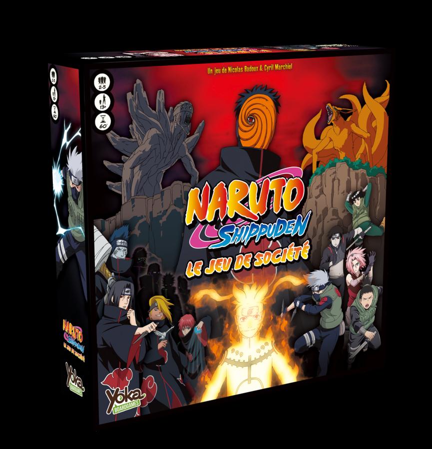 Naruto Shippudden : Le jeu de société