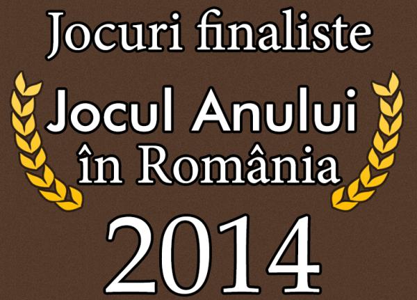 Les nominés au jeu de l'année roumain 2014 sont...