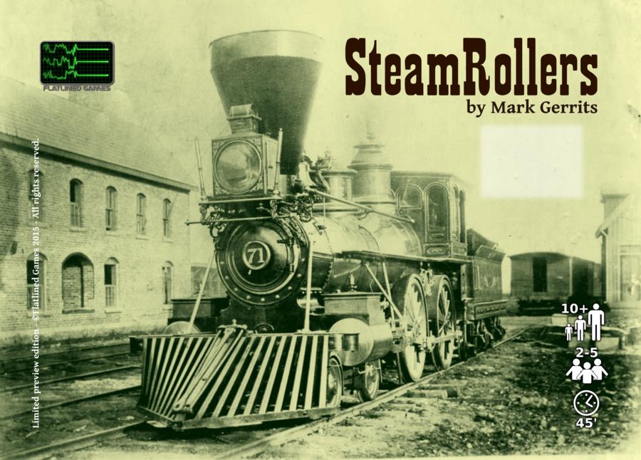 SteamRollers - la genèse