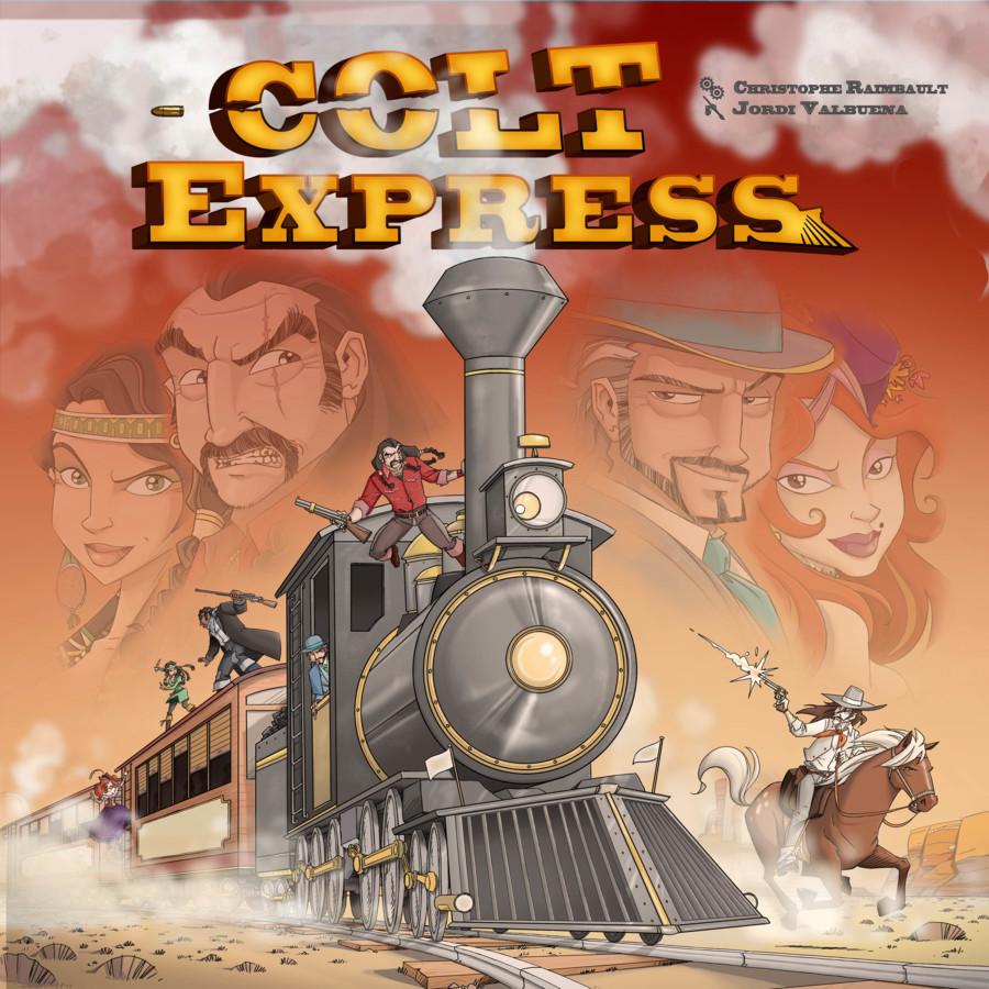 Action-Überfall auf den Colt Express