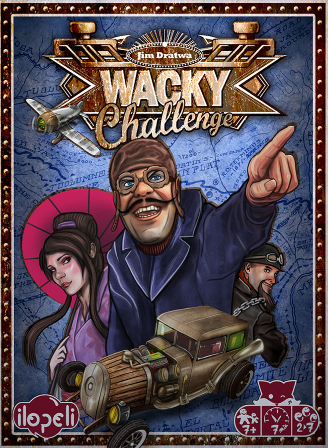 Wacky Challenge, en route vers les étals
