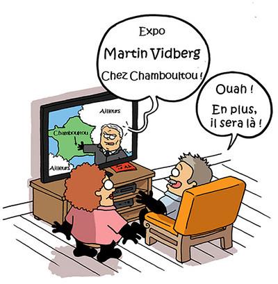 <p>Martin Vidberg nous Chamboultou !</p>