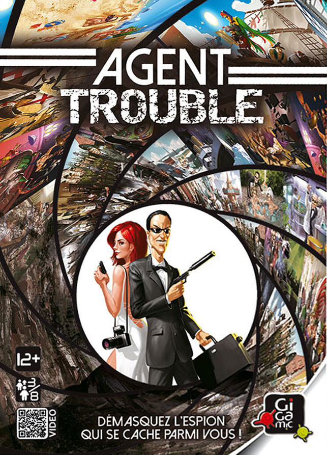 Agent Trouble, espionnage chez Gigamic