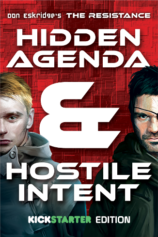 The Resistance: Hidden Agenda & Hostile Intent - Kickstarter Edition