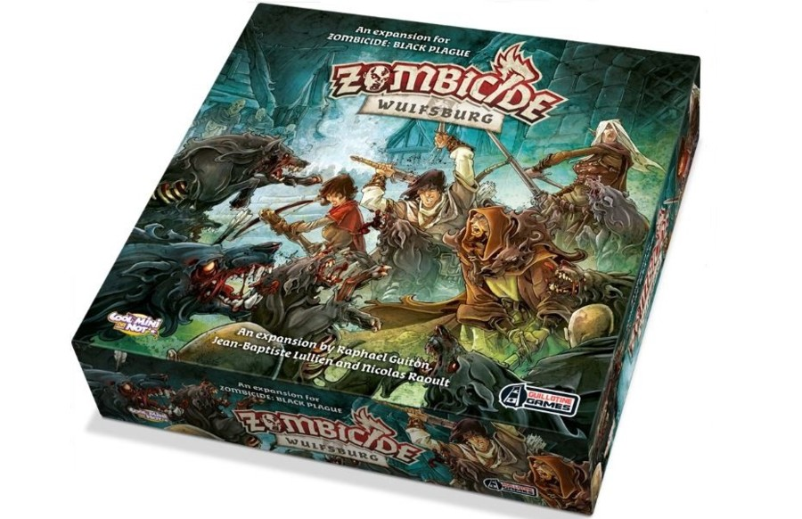 Zombicide : Black Plague – La première expansion dévoilé !