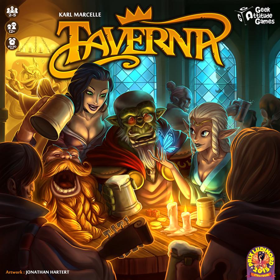 Taverna : Bière d'elfes ou Vin d'Orcs ?