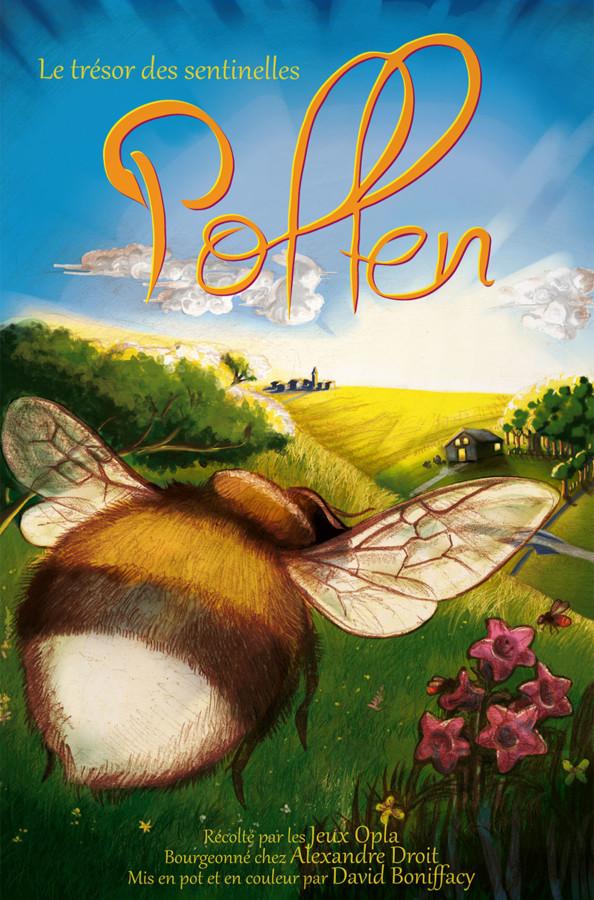Pollen, quand Alexandre Droit nous fiche le bourdon