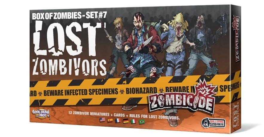 Zombicide : lost zombivors