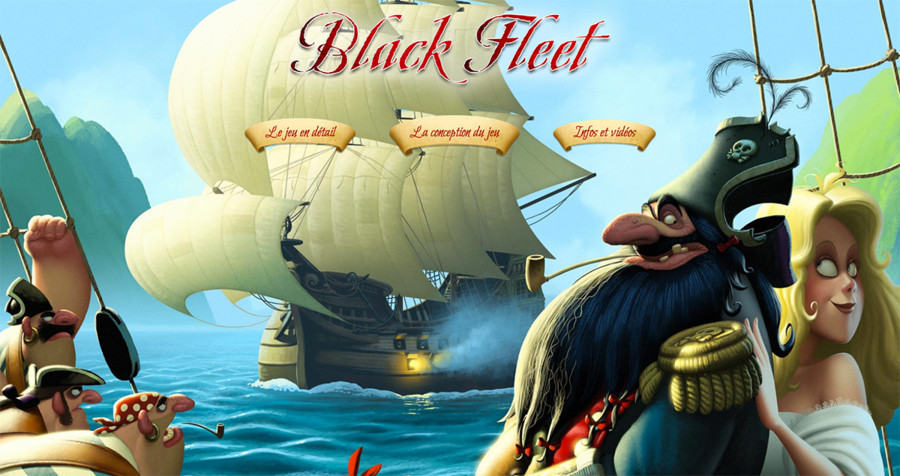 Black Fleet, le site web et l'interview de Croc