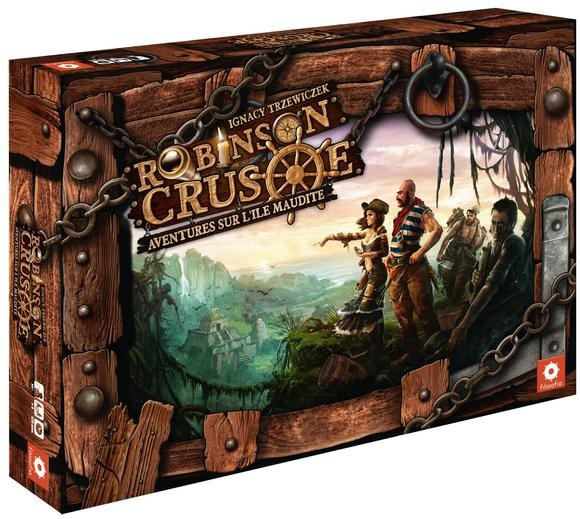 Robinson Crusoé : Aventures sur l'ile maudite:
