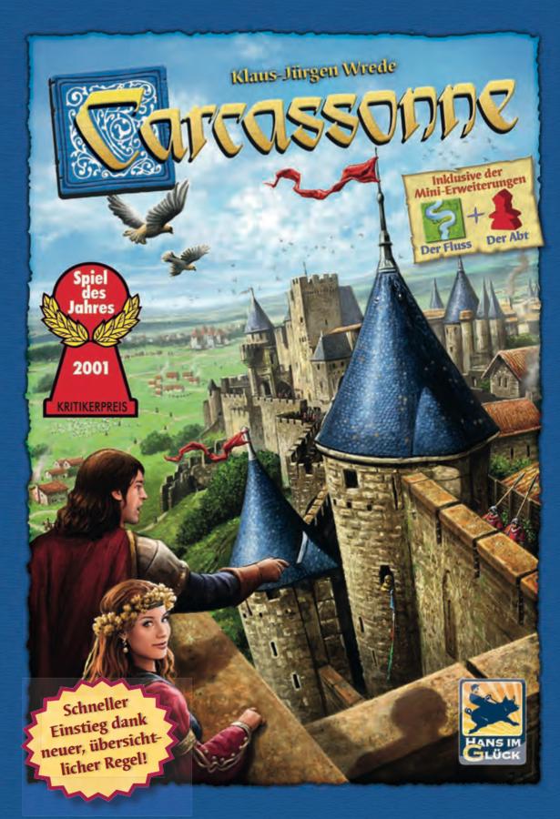 Carcassonne, die Neuauflage