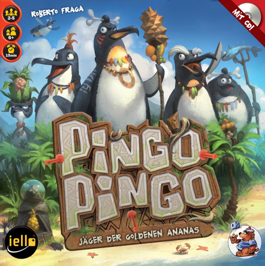 Pingo Pingo: Action mit CD und Pfeilpistole