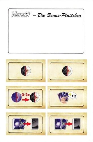 Hanabi - Die Bonus-Plättchen