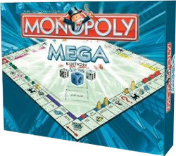 monopoly mega edition r gles du jeu un jeu de charles b darrow jeu de soci t tric trac. Black Bedroom Furniture Sets. Home Design Ideas