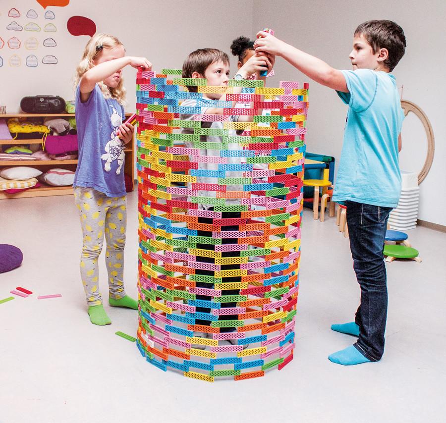 BIOBLO le nouveau jeu de construction écologique et coloré !