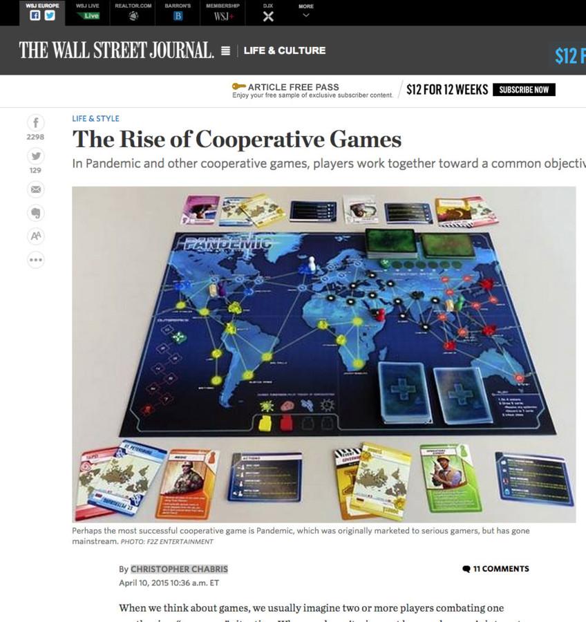 Pandémie et le Wall Street Journal
