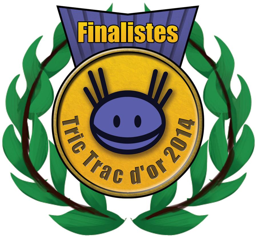Tric Trac d'Or 2014, les finalistes...