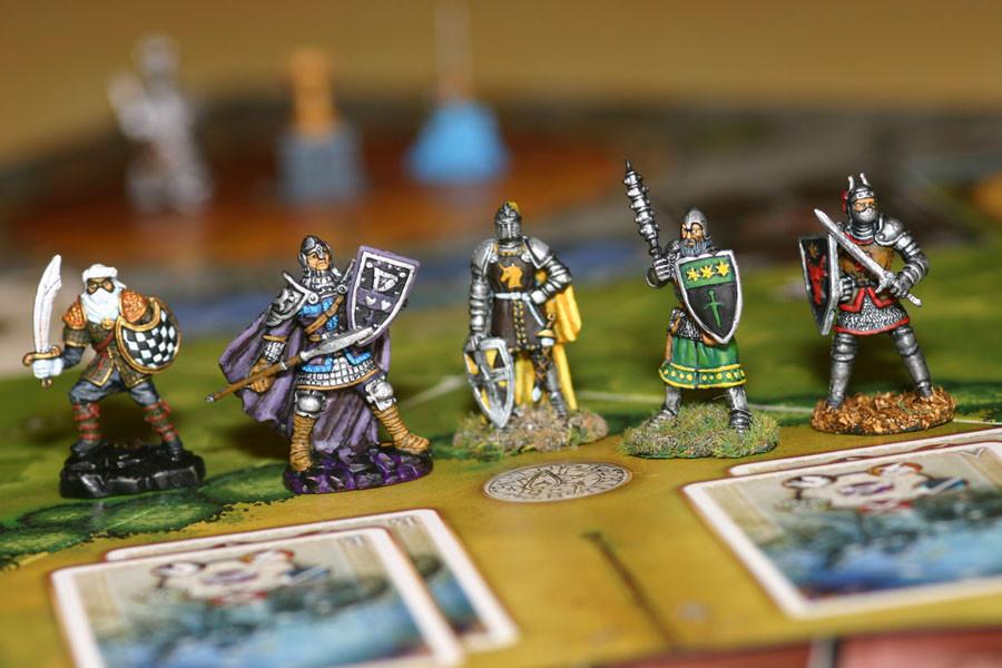 Les chevaliers de la table ronde photos 27 un jeu de serge laget jeu de soci t tric trac - Jeu de societe les chevaliers de la table ronde ...