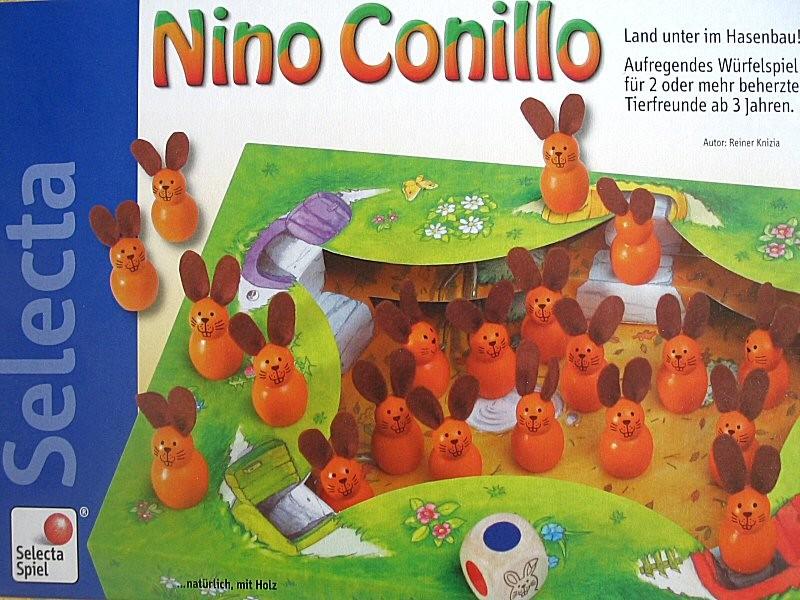 Nino Conillo, jouer dès deux ans et demi