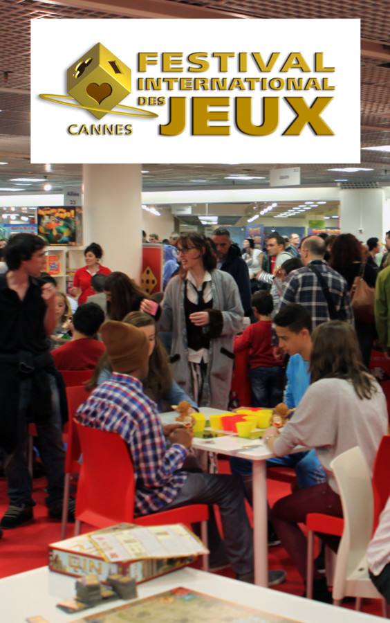 Festival International des Jeux de Cannes 2014 : Part 1, le salon