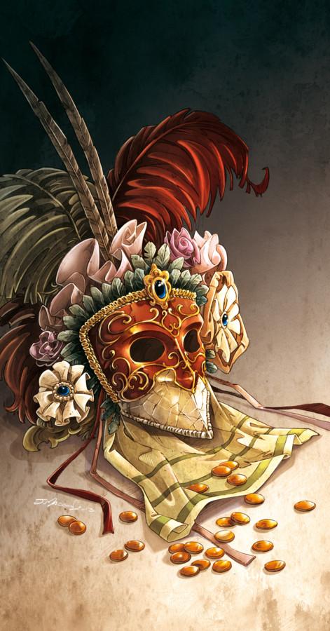 Illustration Mascarade